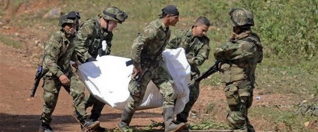 kolombiya asker