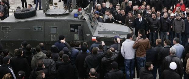 Kosova'da Noel gerginliği
