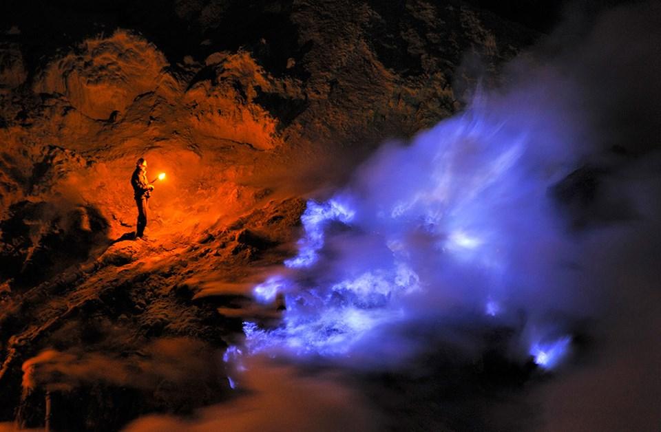 Kükürt madeninin gerçeküstü dünyası