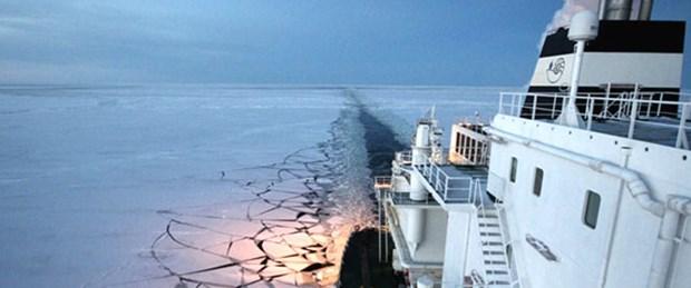 Küresel ısınma Kuzey Kutbu'nda 'rota' açtı