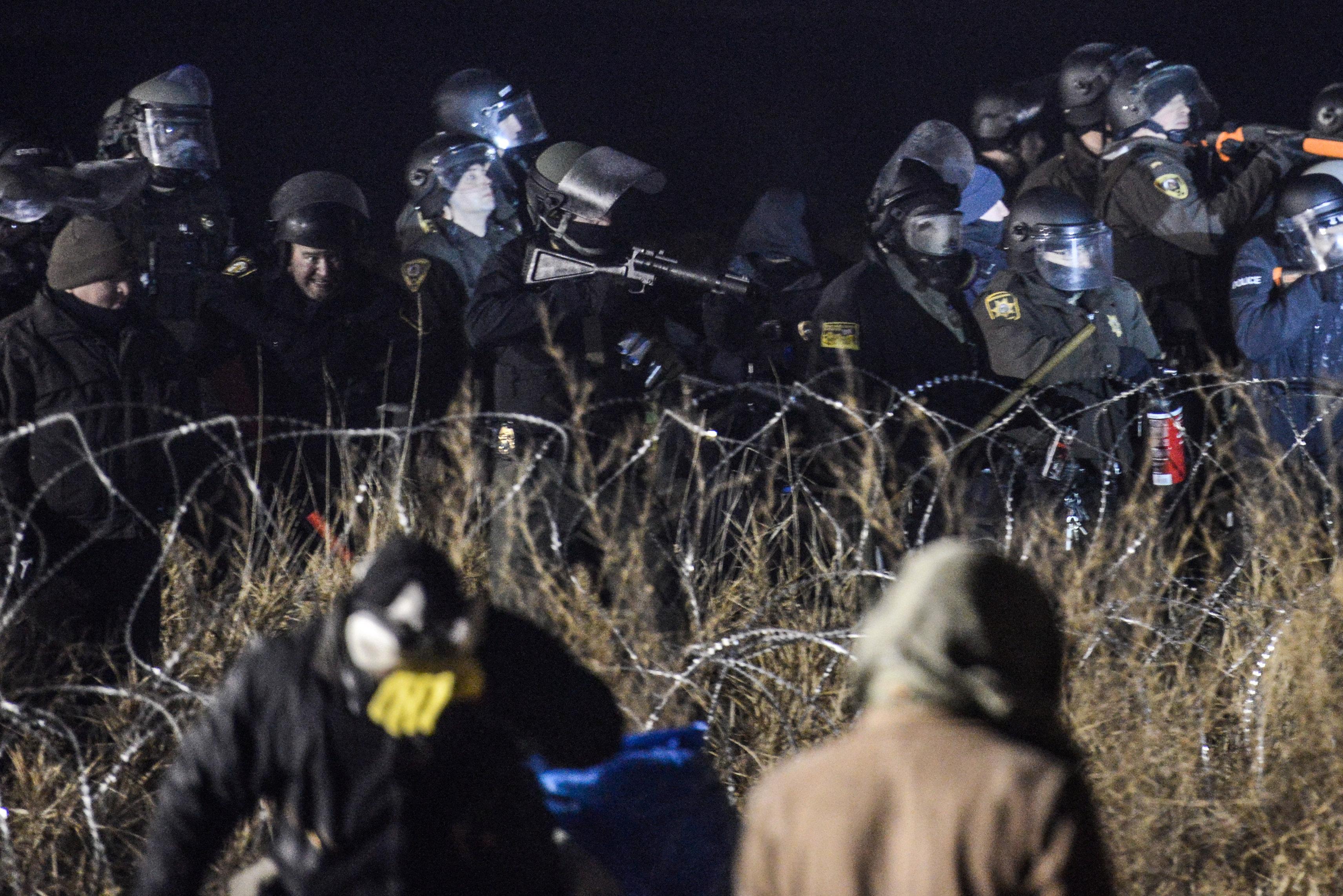 Kuzey Dakota'da boru hattı protestoları devam ediyor