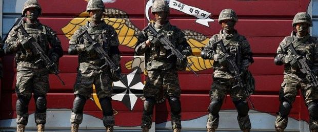 güney kore kuzey kore askeri tatbikat060819.jpg