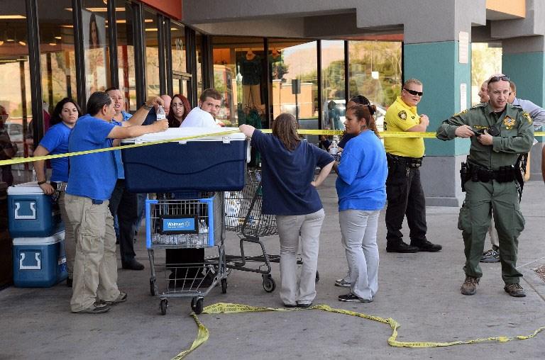Las Vegas'ta silahlı saldırı: 5 ölü