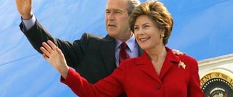 Laura Bush: Almanya'da bizi zehirlediler