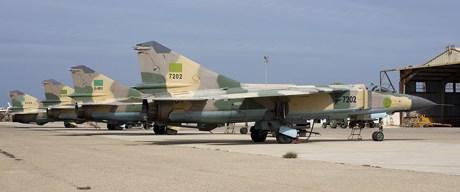 Libya Hava Kuvvetleri'na ait uçakların çoğunun havalanamayacak durumda olduğu düşünülüyor.