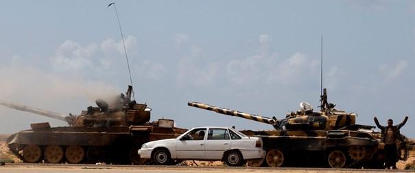 Libya uçağı düşürüldü