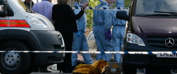 Londra'da satırlı 'terör'
