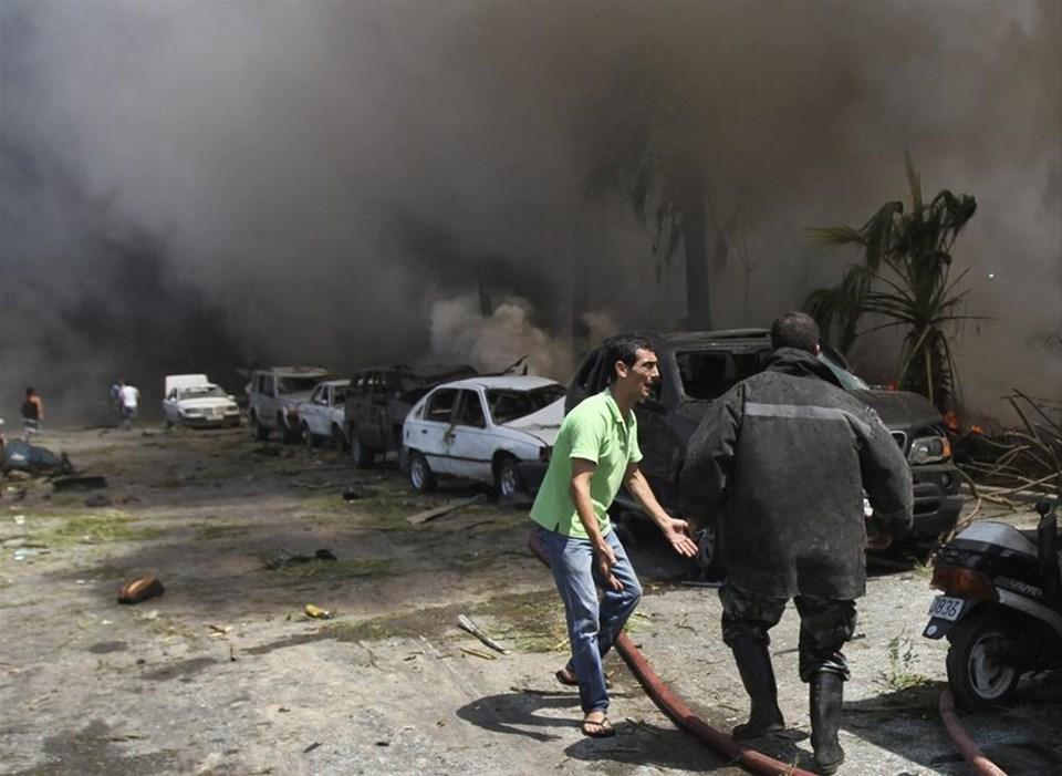 Lübnanda camiler ilk kez hedef