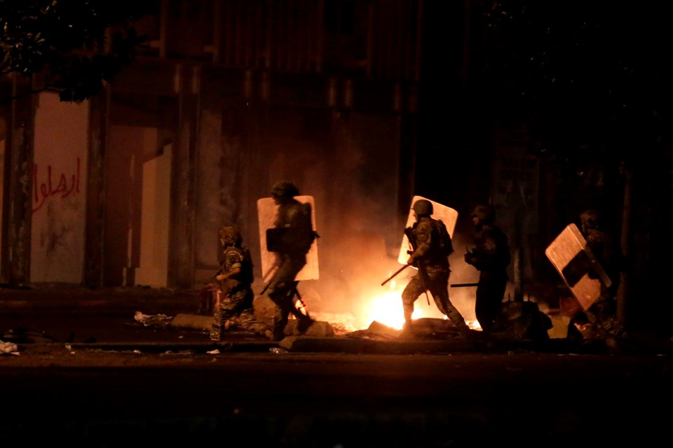 Lübnan'da protestolar şiddetlendi
