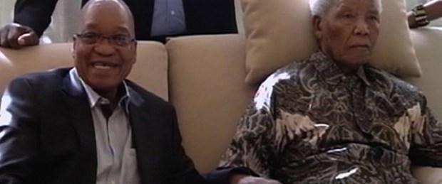 Mandela'nın bu görüntüsü kızdırdı