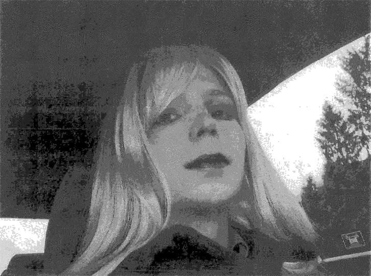 Manning, 2010 yılında bir ordu danışmanına bu fotoğrafı yollamış.