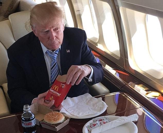 Hacker'lar tarafından paylaşılan mesajda Trump'ın seçim döneminde kişisel Instagram hesabından paylaştığı bu kareye de gönderme yapıldı.