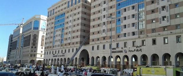 Medine'de otel yangını: 17 ölü