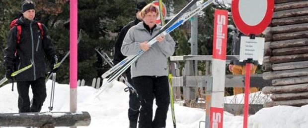 Merkel de kayak kurbanı