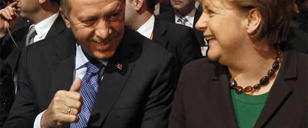 Merkel'den Almanca, Erdoğan'dan vize!