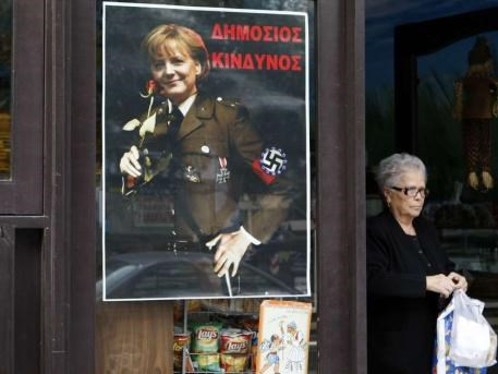 Merkel'e 'Baba' benzetmesi