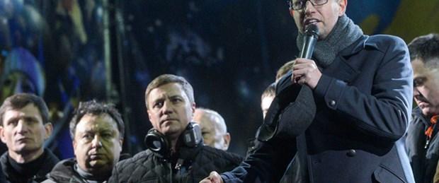 'Meydan'ın başbakan adayı Yatsenyuk