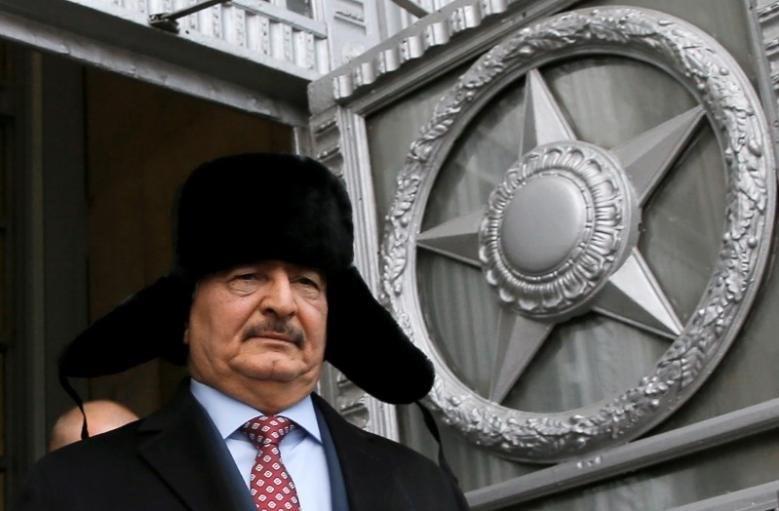 Rusya'nın Libyalı general Halife Hafter'i desteklemek için Mısır'ın batısına asker konuşlandırdığı ileri sürülmüştü.