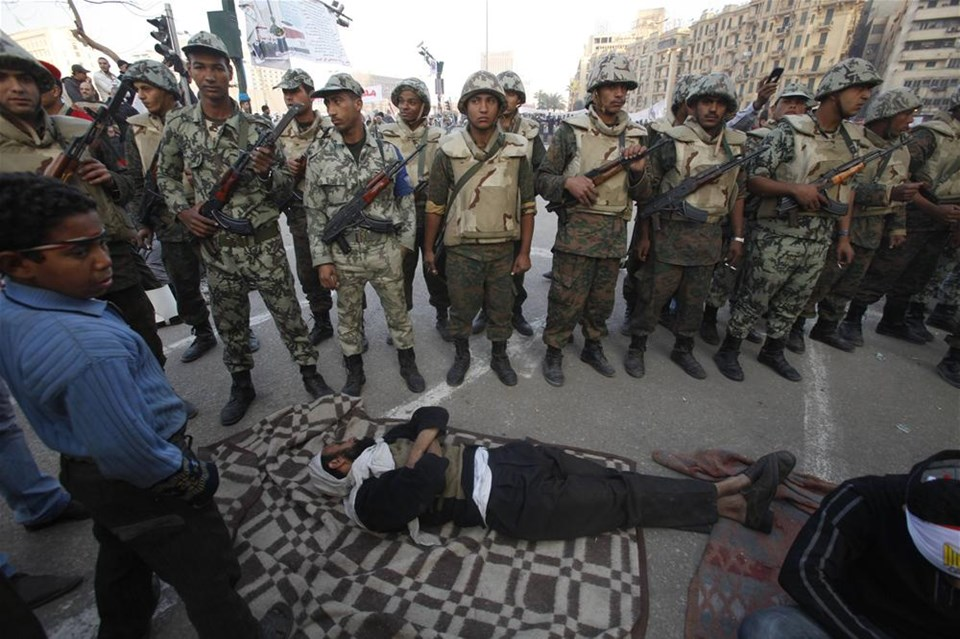 Mısır'da korkulan oluyor
