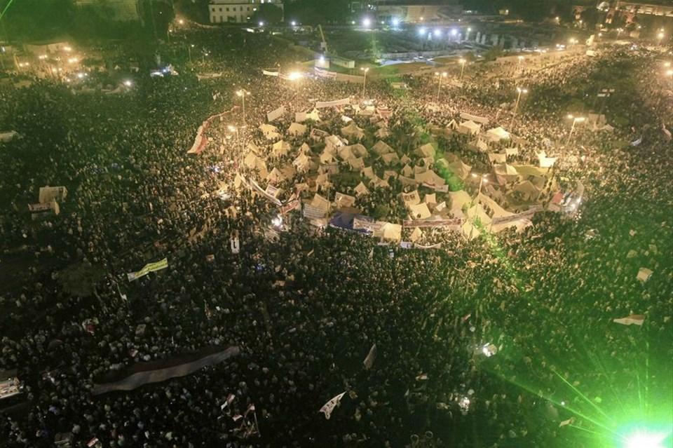 Mısır'da Mursi'ye karşı isyan
