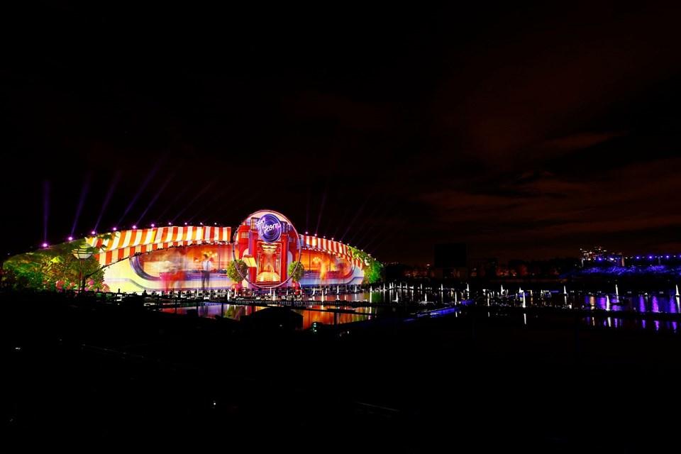 Işık Çemberi Festivali'ne görkemli açılış