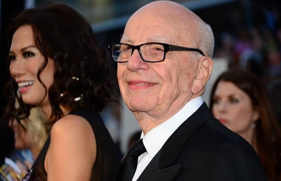 Çin ajanı olmakla da suçlanan Wendi Deng, Avustralyalı medya imparatoru Rupert Murdoch'la mutlu günlerinde.