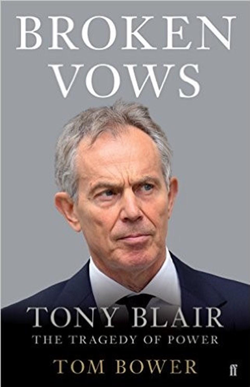 Perşembe günü piyasaya çıkması beklenen kitap, İngiltere eski Başbakanı Tony Blair'le ilgili çarpıcı iddialar ortaya atıyor.