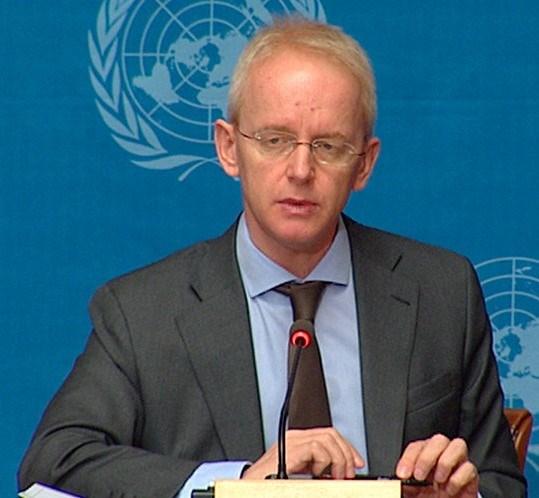 Birleşmiş Milletler Mülteciler Yüksek Komiserliği (BMMYK) Sözcüsü Adrian Edwards.
