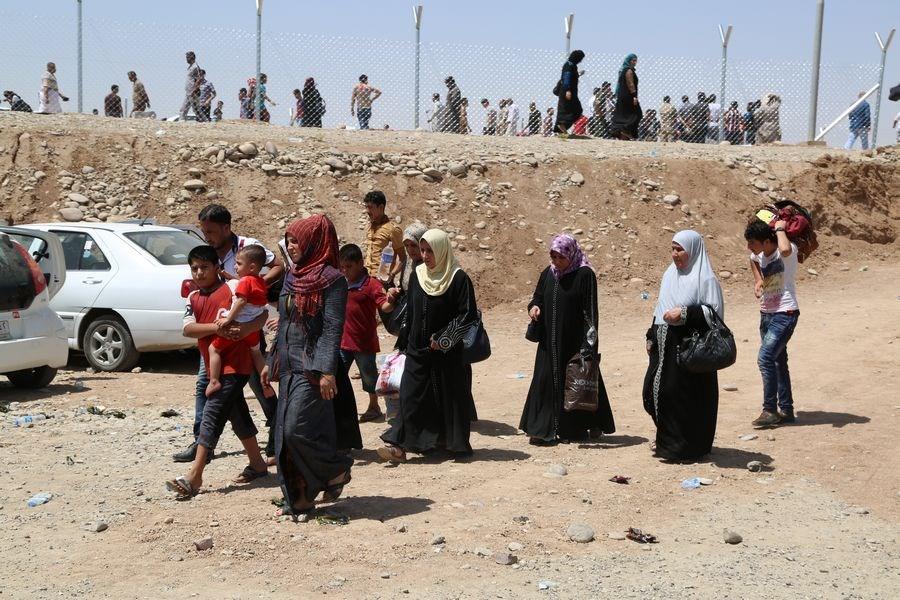 Musul'dan büyük kaçış