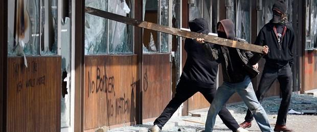NATO protesto edildi; çatışmalar yaşandı