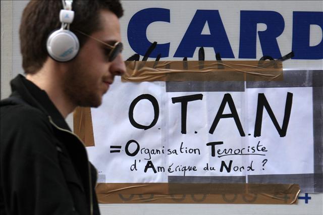 NATO protestosu