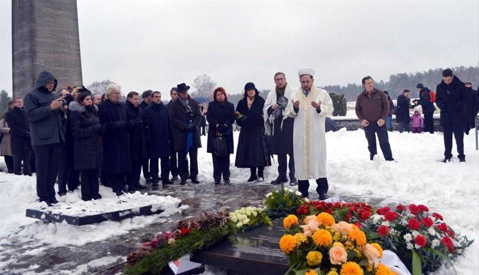 Nazi kurbanı 8 Türk vatandaşı için anıt