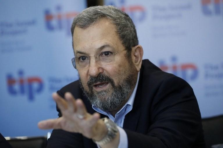 İsrail eski Başbakanı Ehud Barak