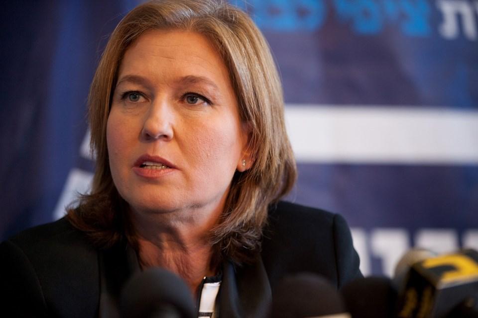 Eski İsrail Dışişleri Bakanı Tzipi Livni