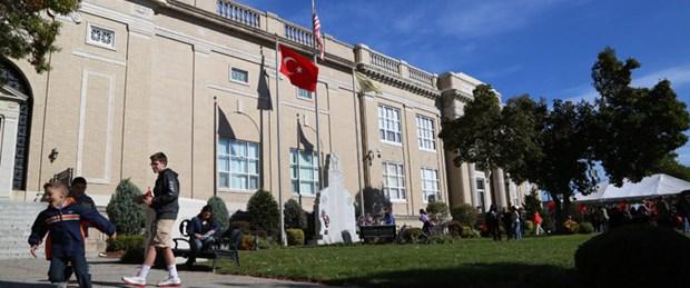 New Jersey'de Türk bayrağı dalgalanıyor