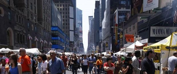 New York'ta cinayetsiz gün sevinci
