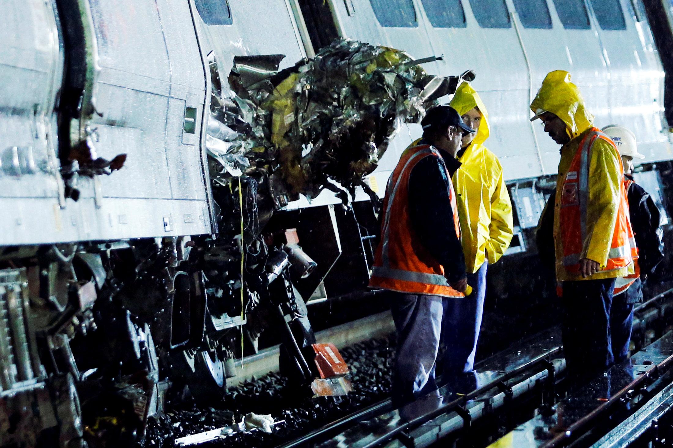 New York'ta tren kazası