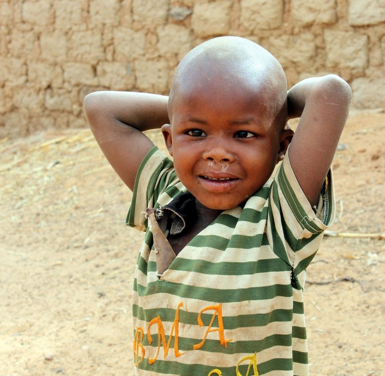 Nijer'de çocuk olmak