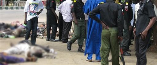 Nijerya ordusu camiye saldırdı