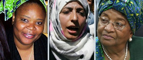 Nobel Barış Ödülü üç kadına verildi