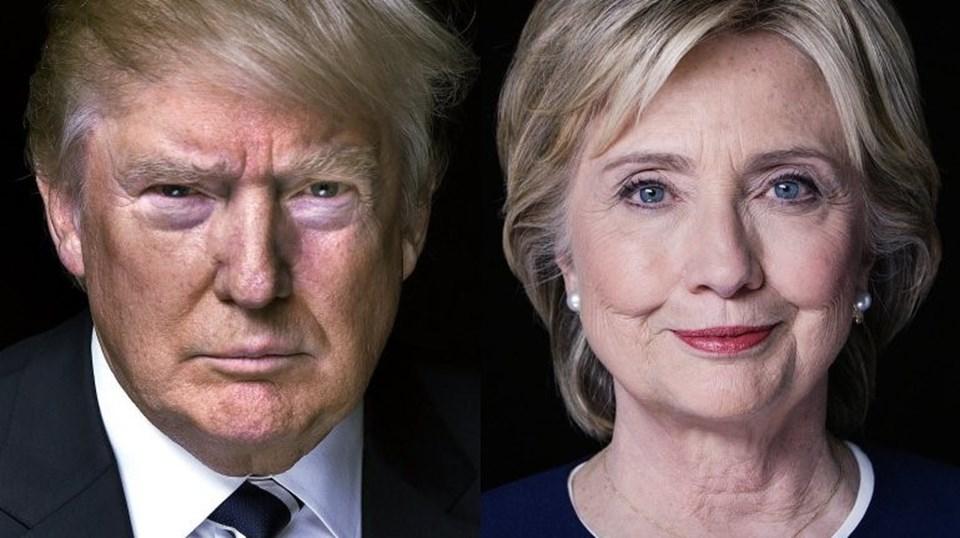 Milyarder işadamı Donal Trump ve Hillary Clinton 8 Kasım'daki seçimlerde iki favori aday olarak yarışacak. Eğer Clinton seçilirse ABD tarihinin ilk kadın başkanı olacak.