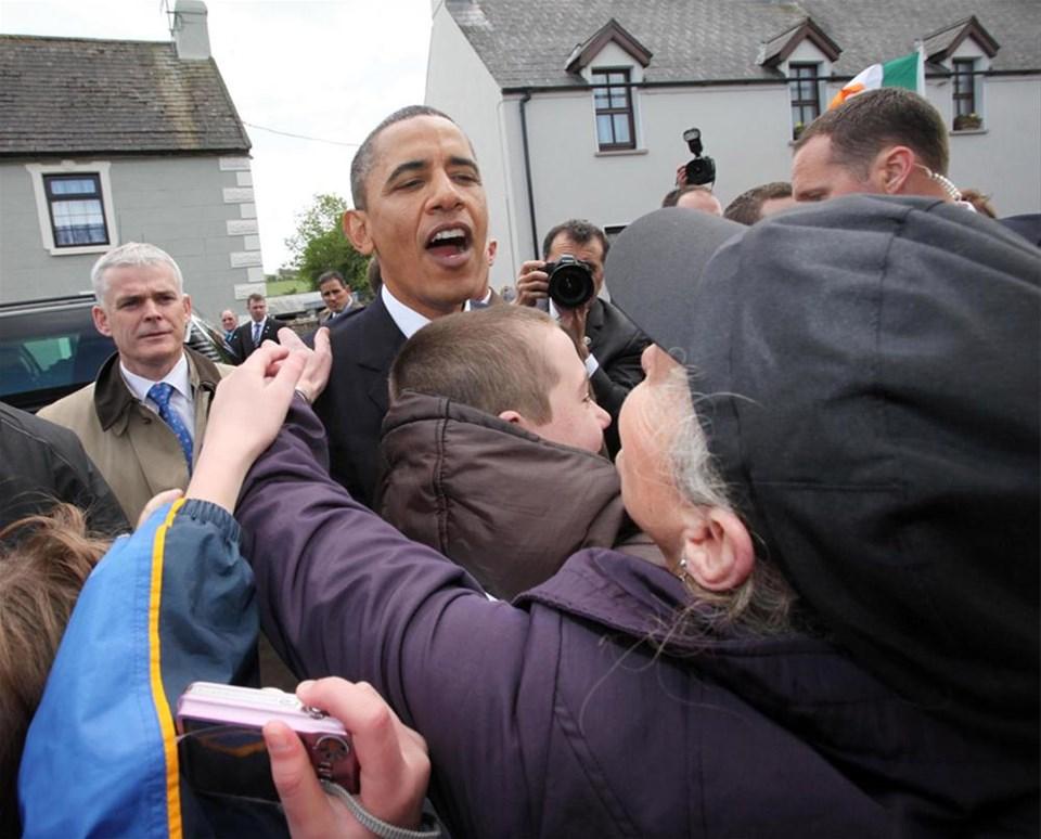 Obama ata toprağında