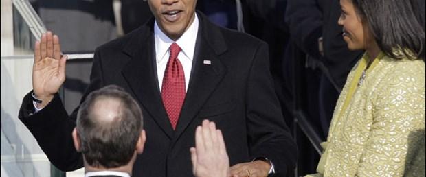 Obama bir kez daha yemin etti