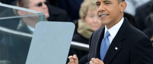 Obama ikinci kez yemin etti