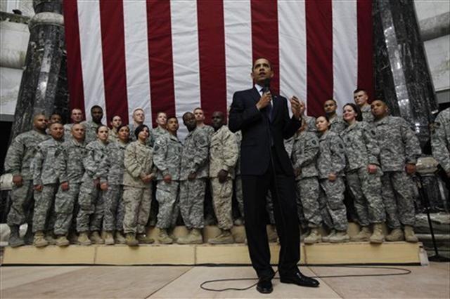 Obama Irak'ta