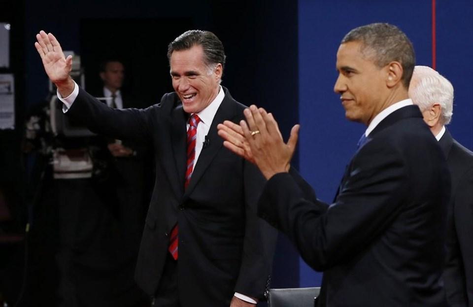 Obama ve Romney son kez kozlarını paylaştı