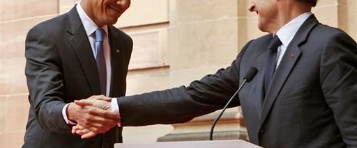 Obama ve Sarkozy'den ortak açıklama