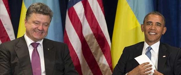 Obama'dan Poroşenko'ya övgü