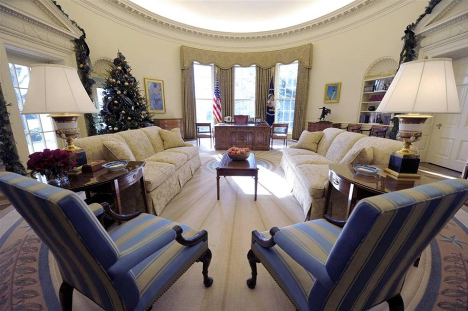Obama'nın Oval Ofis'i