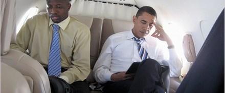 Obama'nın yanından ayrılmayan adam